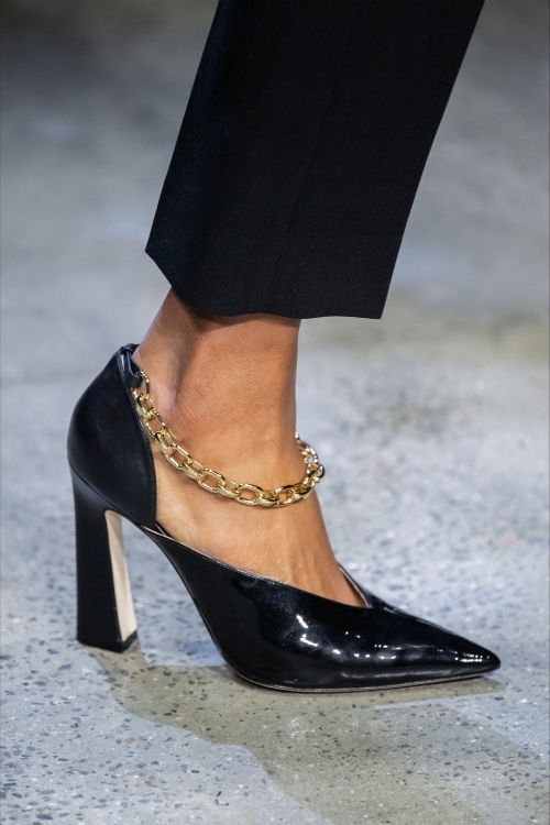 black shoes with chains, Pinterest