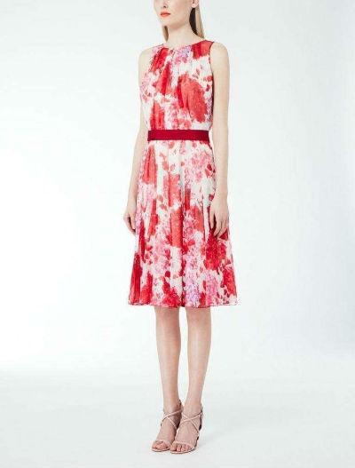 abito fantasia a fiori di Max Mara, Pinterest