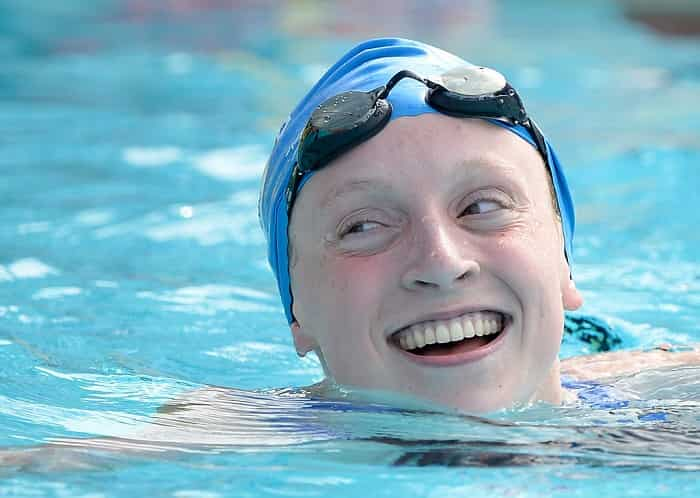 This is What Katie Ledecky's Main Sets Look Like