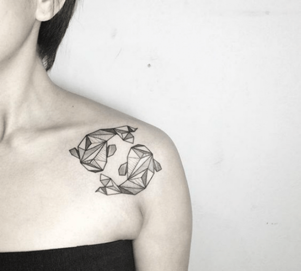 25 Best Fish And Constellation Tattoos For Pisces Zodiac Sign
