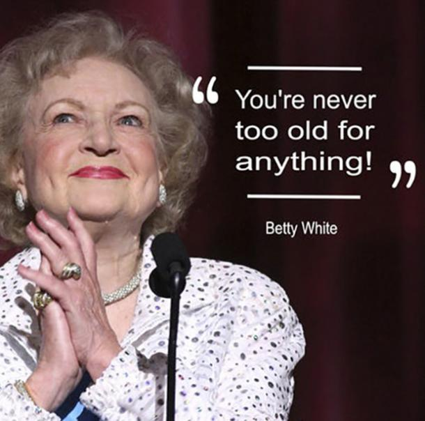 BettyWhite25 - 26 All Time Best Betty White Quotes & Funny Memes In Honor Of Her (96th!) Birthday