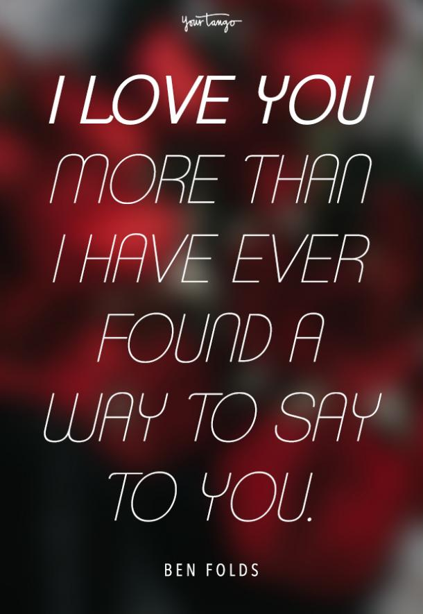 100 Love Quotes That Say Exactly What I Love You Means Insider Life