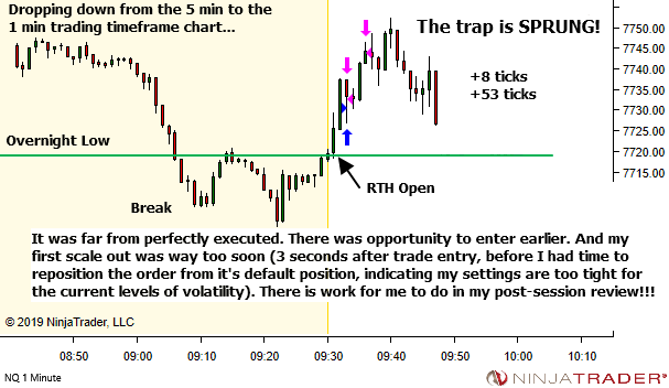 <image: Traps just before RTH Open>