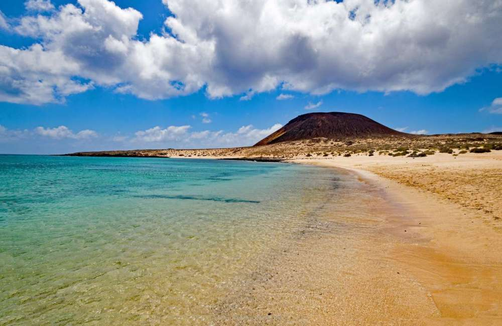Francesca Beach. La Graciosa Island, Canary Islands