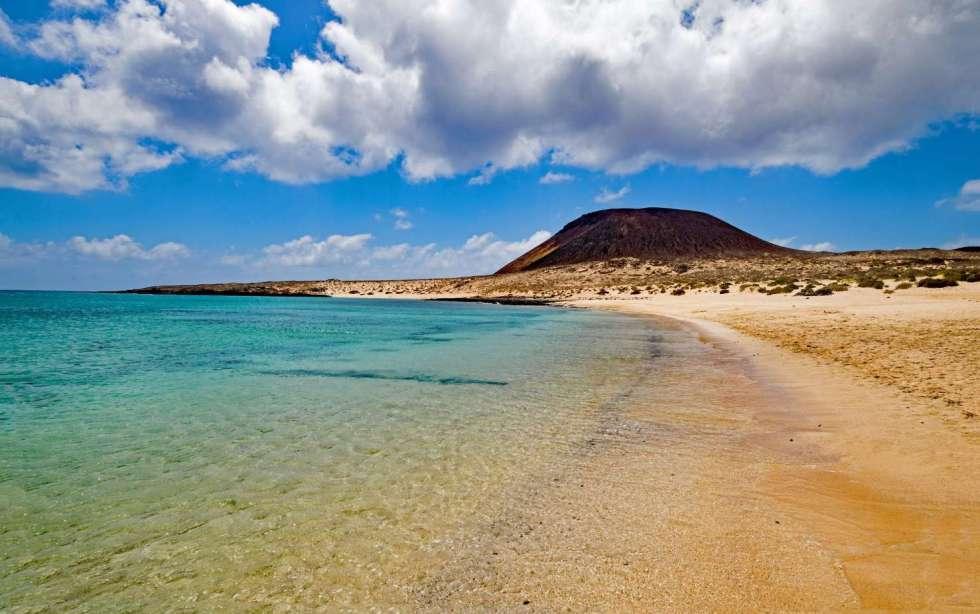Francesca Beach. La Graciosa Island, Canary Islands