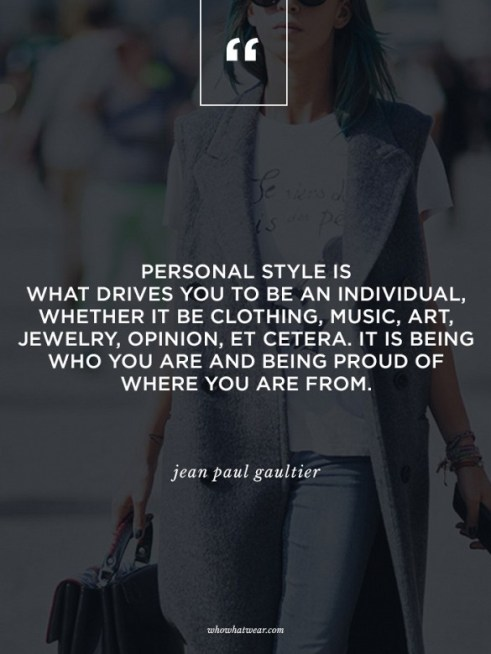 personal style is...