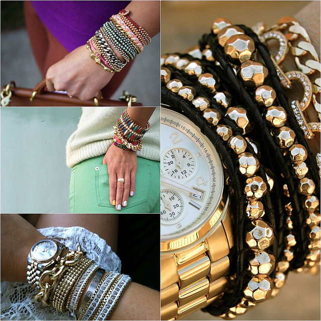 How to Get Good at Layering Bracelets