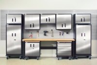 Garage Cabinets: Installation Garage Cabinets