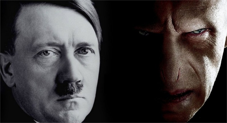 harry potter regimen nazi paralelismo alemania hitler voldemort