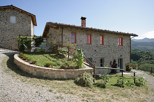 A renovated Italian farmhouse