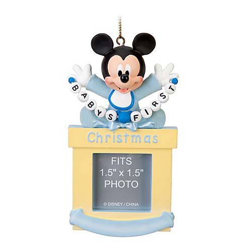 disney christmas ornament frame