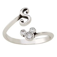 Disney Ring - Mickey Mouse Initial Ring