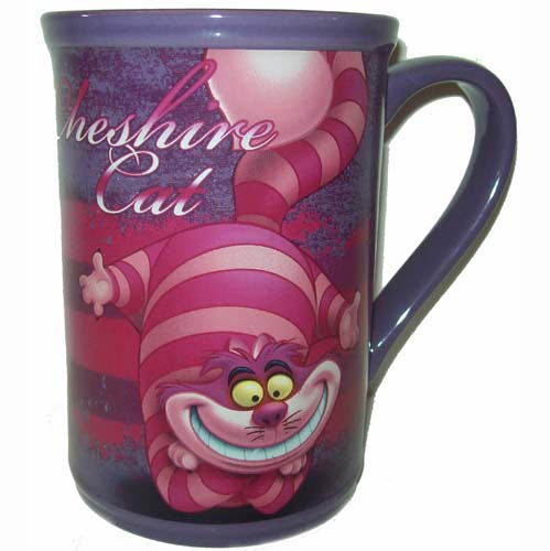 Your WDW Store  Disney Coffee Cup Mug  Alice In Wonderland  Cheshire Cat