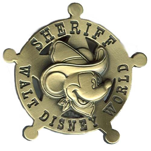 Your WDW Store Disney Mickey Pin Sheriff Mickey Mouse