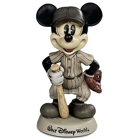 Disney Bobblehead Figure Baseball Mickey Mouse Disney