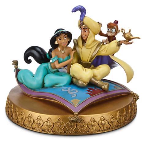 Disney Medium Figure Statue Aladdin And Jasmine A Whole