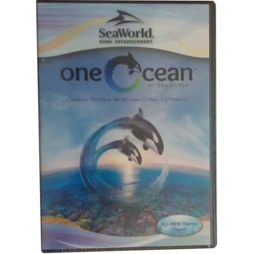 Your WDW Store  Sea World DVD  One Ocean  All New Shamu Show