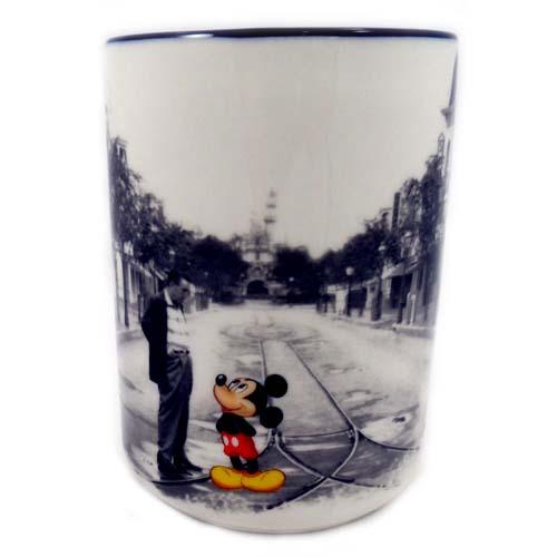 Your WDW Store  Disney Coffee Cup Mug  Mickey and Walt
