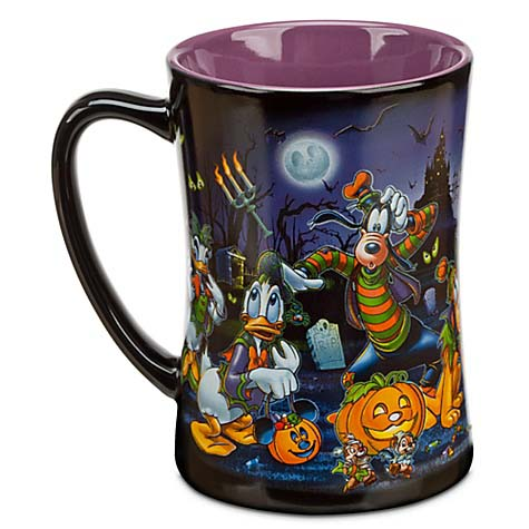 Disney Coffee Cup Mug Halloween Time Mickey Mouse