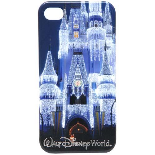 Disney iPhone 4s Case  Walt Disney World Cinderella Ice Castle