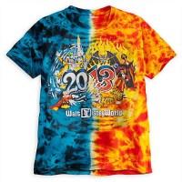 Disney ADULT Shirt - 2013 Walt Disney World - Tie Dye