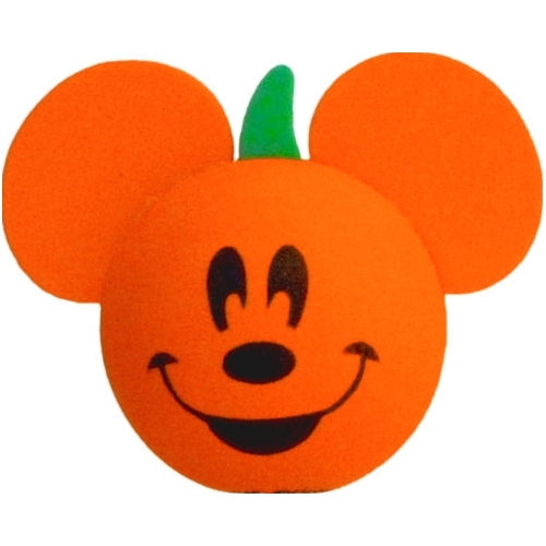 Disney Antenna Topper  Pumpkin with Mickey Mouse Face