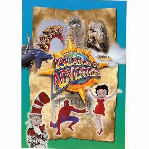 Universal Postcard Universal Studios Islands Of
