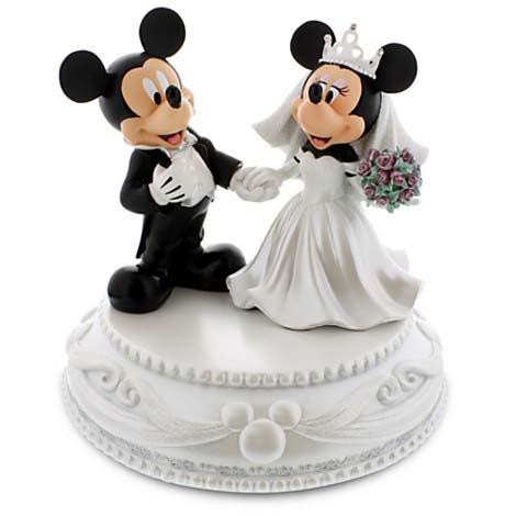 Disney Medium Figure Statue Mickey And Minnie Mouse