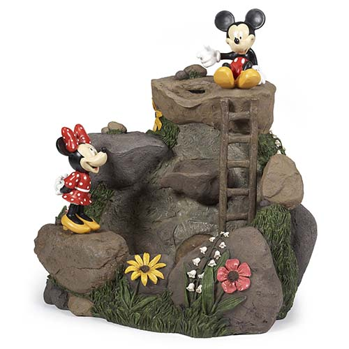 Your WDW Store Disney Water Fountain Mickey And Minnie