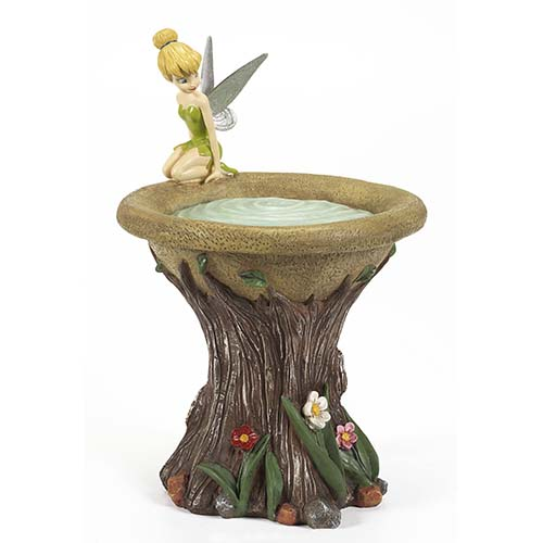 Disney Bird Bath  Flower Garden  Tinker Bell