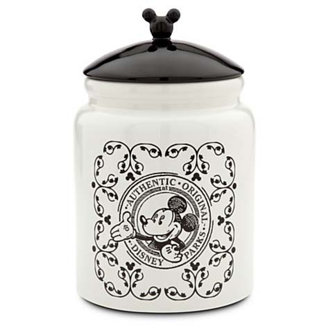 Disney Cookie Jar Gourmet Mickey Mouse Black