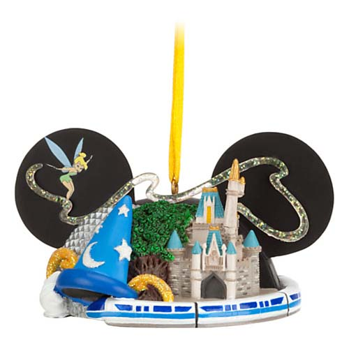 Your WDW Store Disney Ear Hat Ornament Attractions 4