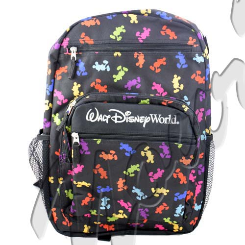 Your WDW Store  Disney Backpack Bag  Mickey Mouse Bright