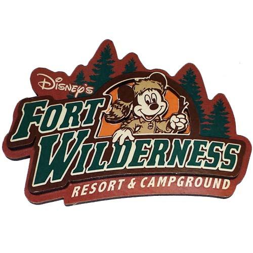 Your Wdw Store Disney Magnet Fort Wilderness Resort