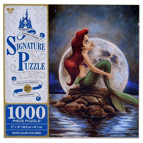Disney Parks Signature Puzzle The Little Mermaid 25th