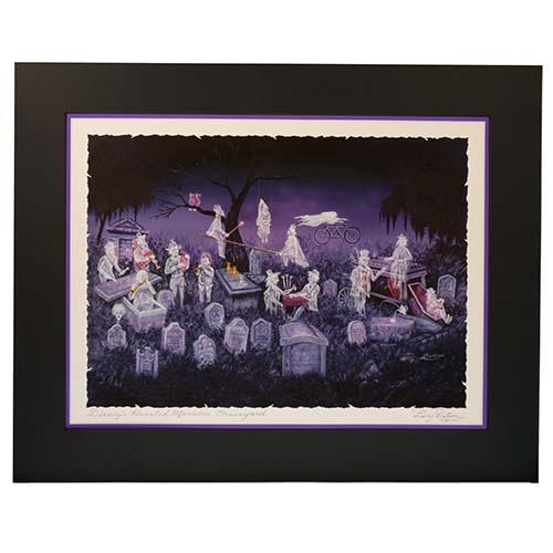 Disney Artist Print  Larry Dotson  The Haunted Mansion