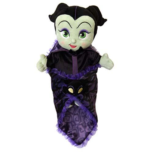 Disney Plush Disneys Babies Maleficent Baby In Blanket