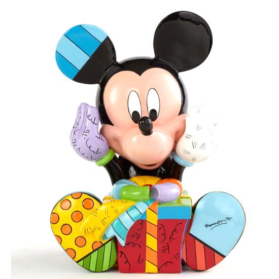 Disney Britto Figure Mickey Birthday Figurine