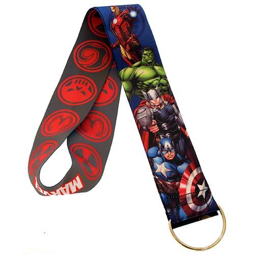 Disney MARVEL Lanyard Heroes And Villians Extra Wide