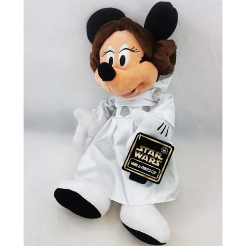 Disney Plush Star Wars Weekends 2015 Princess Leia
