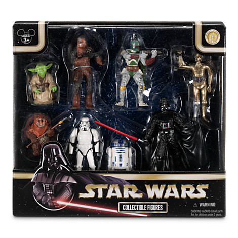 Disney Figurine Set Star Wars Collectible Figures