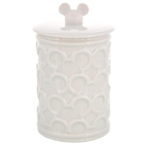 Your WDW Store  Disney Bath Accessories  Mickey Icon Storage Jar