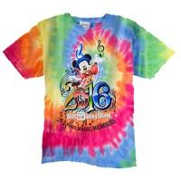 Disney CHILD Shirt - 2016 Walt Disney World Tie Dye Tee