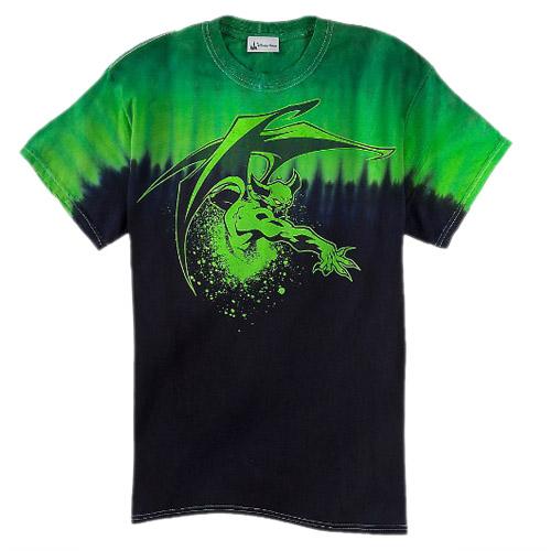 Disney ADULT Shirt Chernabog Tie Dye