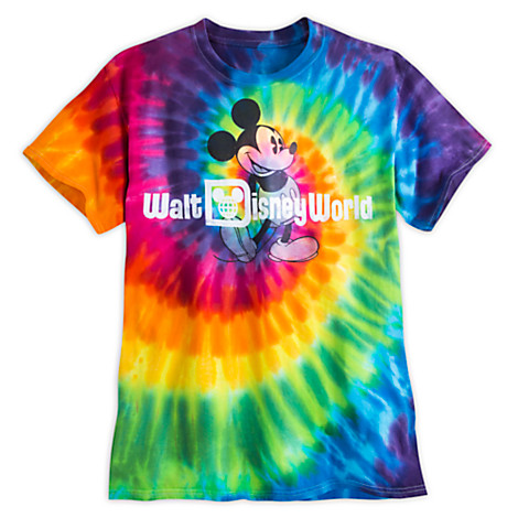 Your WDW Store Disney ADULT Shirt Mickey Mouse Tie Dye