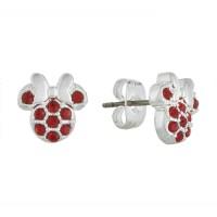 Disney Birthstone Earrings - Minnie Mouse