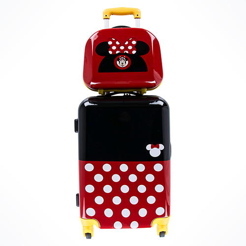 Your WDW Store Disney Rolling Luggage Stacked 2 Piece
