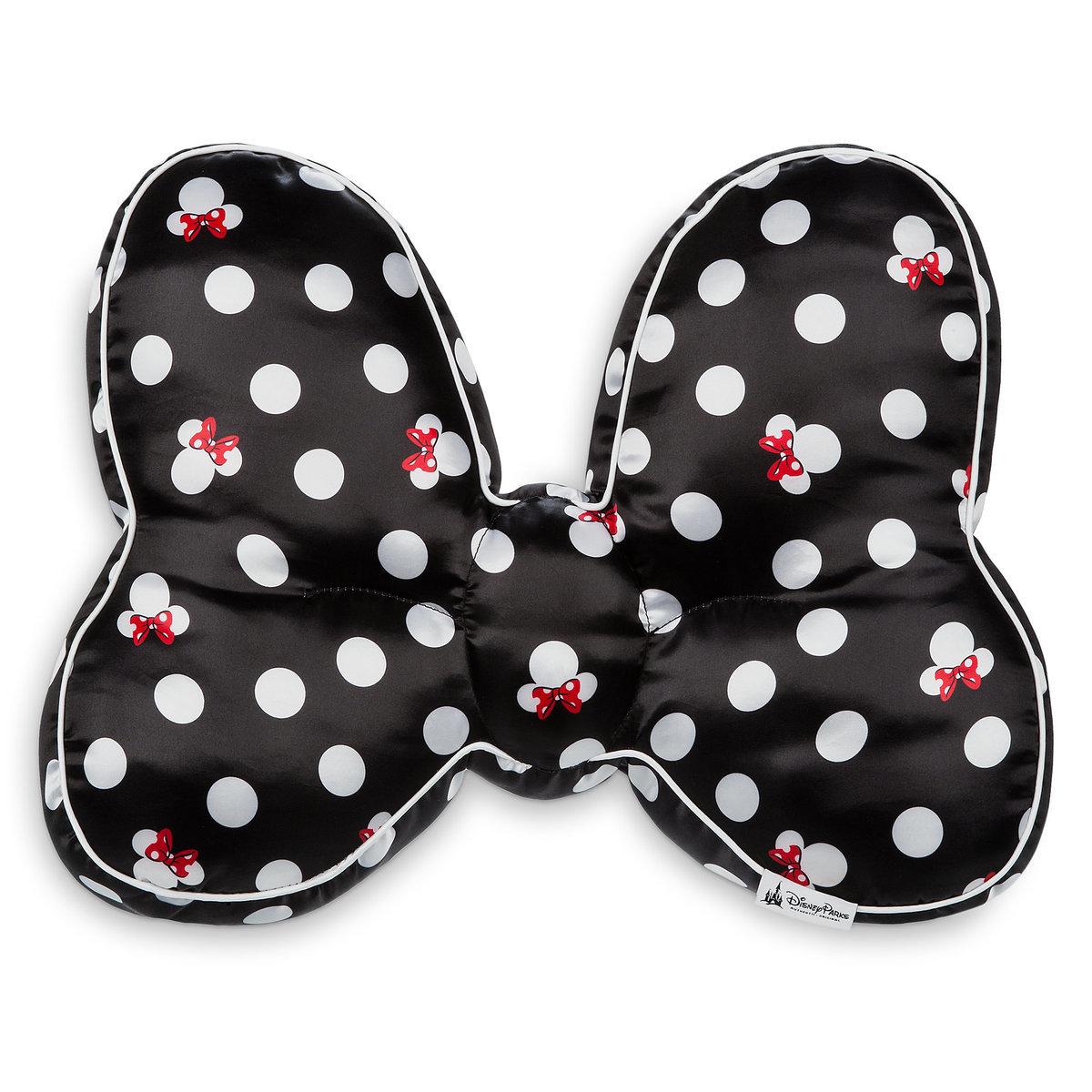 disney throw pillow minnie mouse bow black