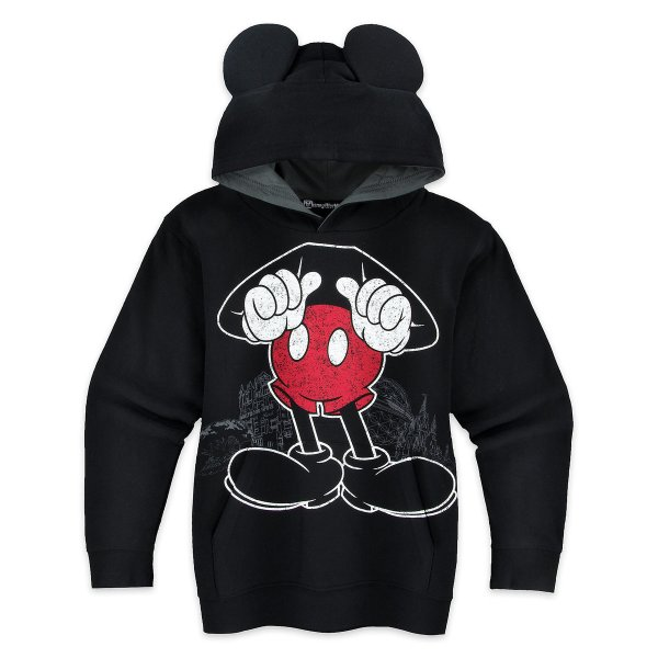 Disney Boys Hoodie - Mickey Mouse Body Pullover