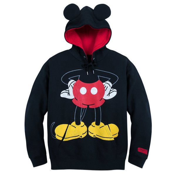 Disney Men' Hoodie - Mickey Mouse Pullover